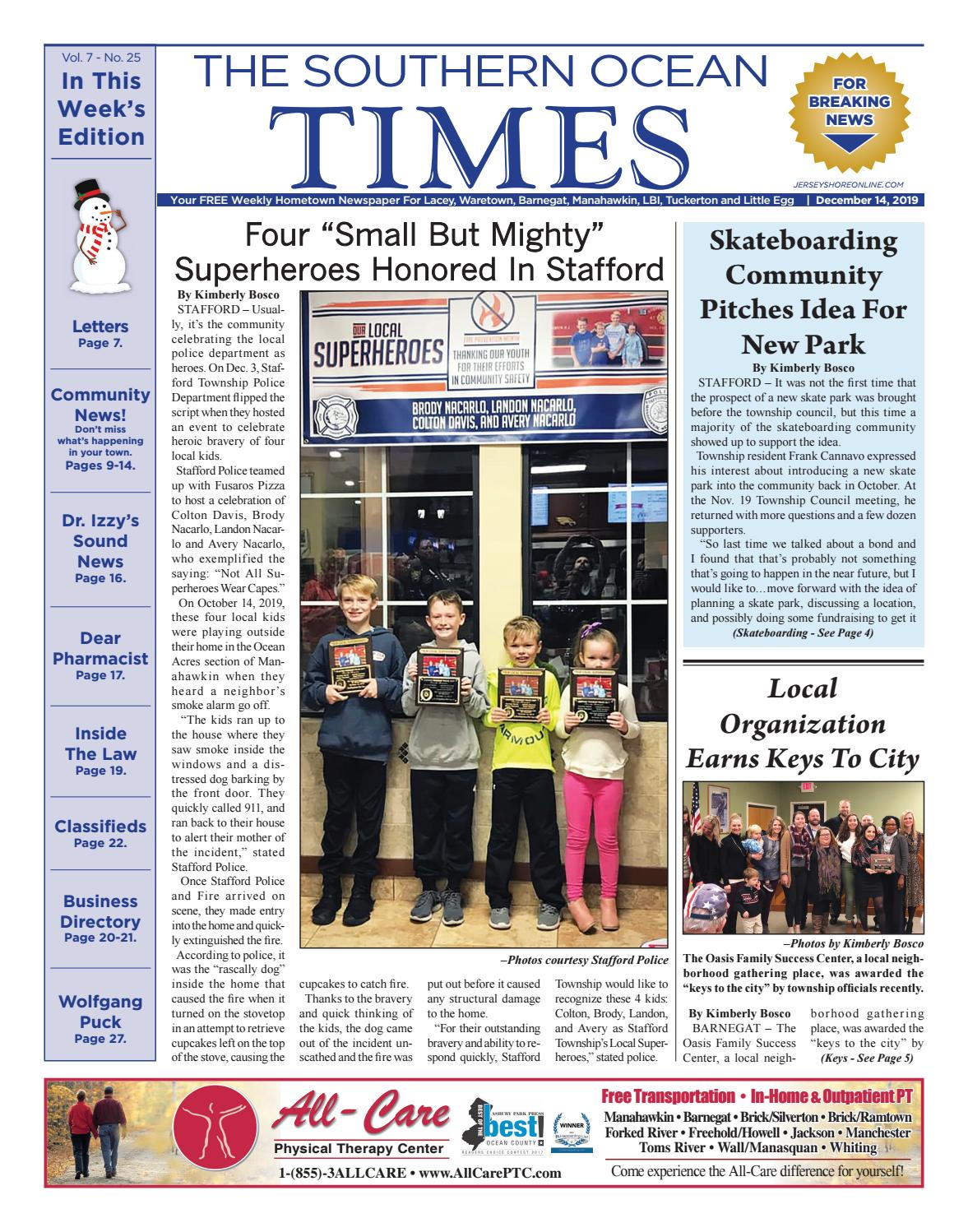 2019 12 14 The Southern Ocean Times By Micromedia Publications