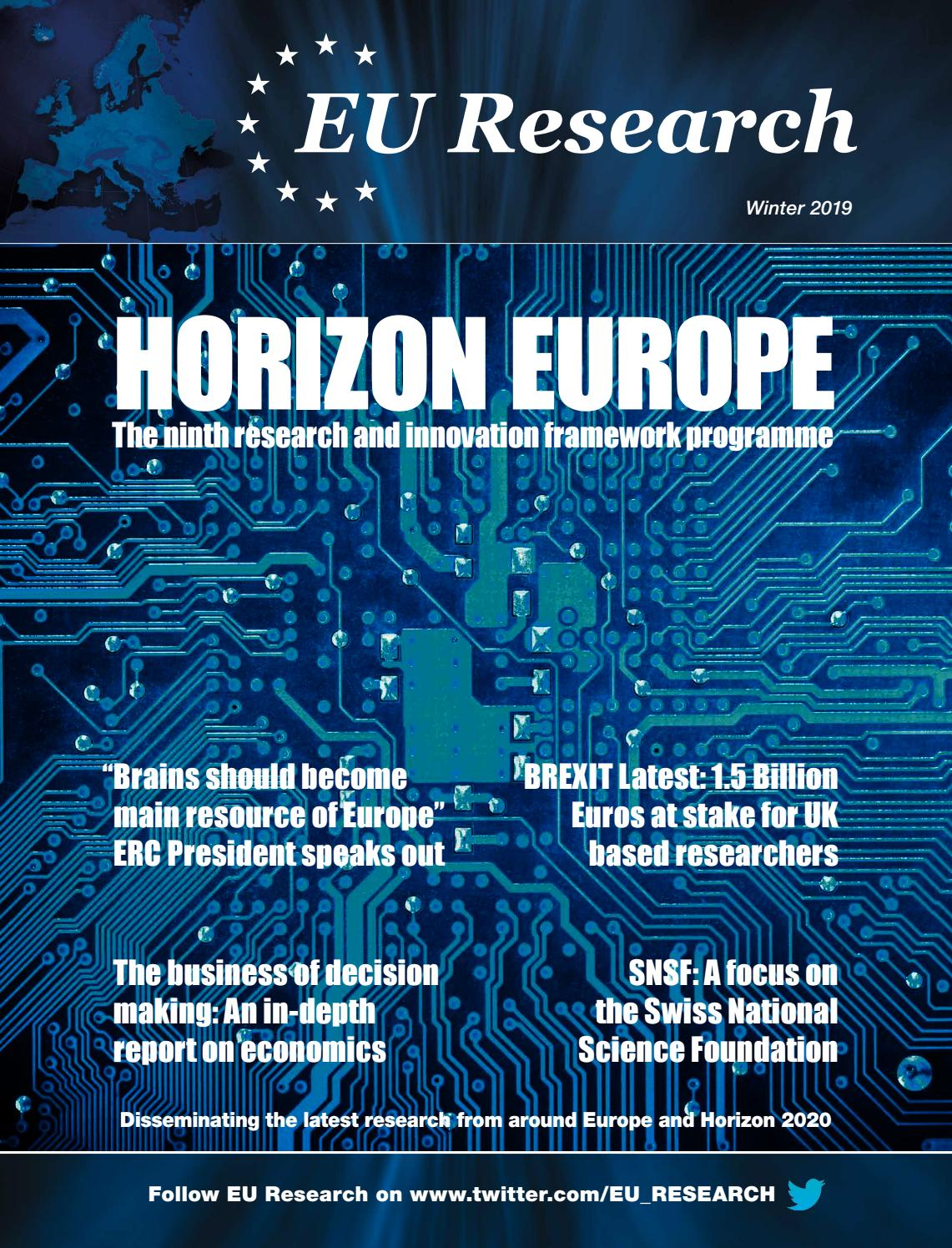 EU Research Autumn Winter 2019 by Blazon Publishing and