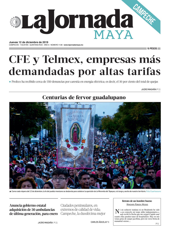 La Jornada Maya Campeche Jueves 12 De Diciembre De 2019 By