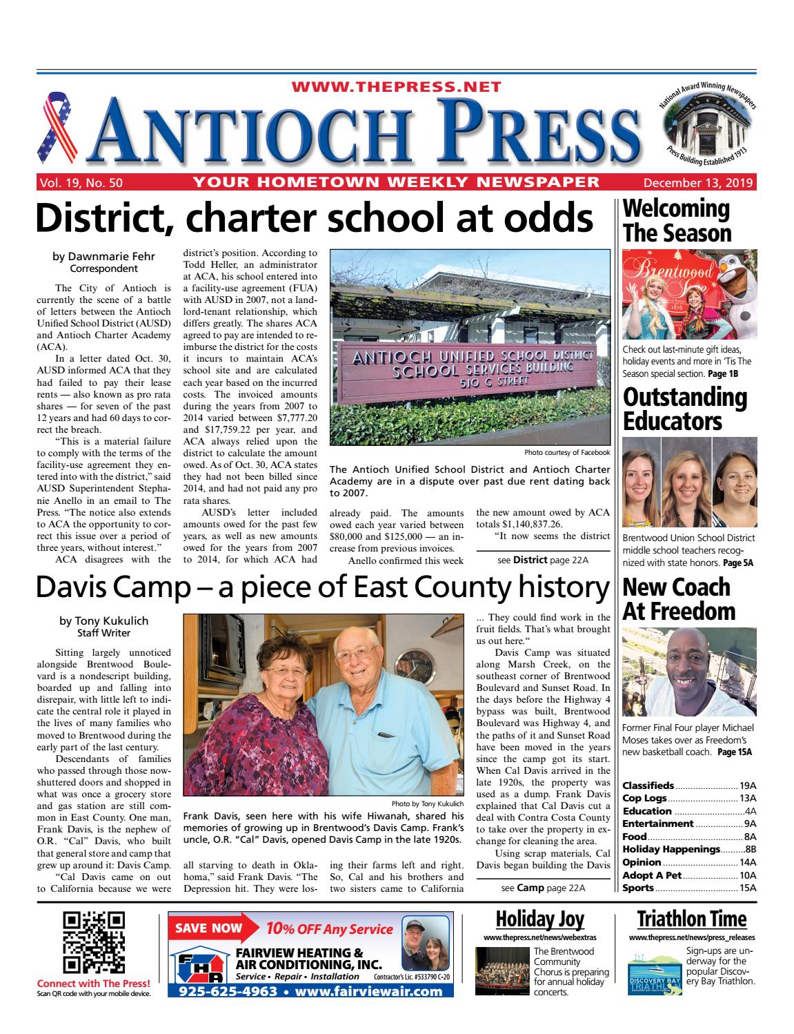 Antioch Press 12.13.19 by Brentwood Press & Publishing issuu