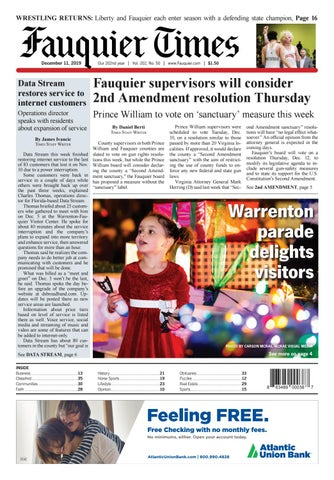 Fauquier Times 12 11 19 By Fauquier Times Issuu