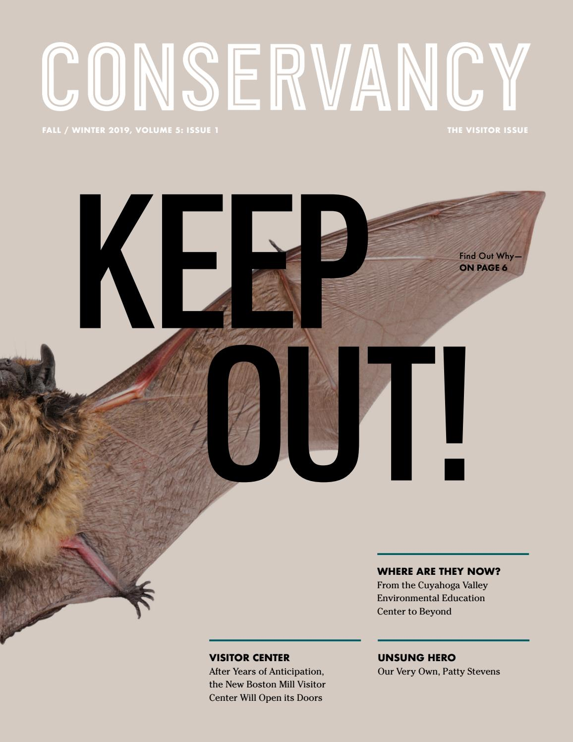 Conservancy Magazine Fall Winter 2019 By Conservancy For Cuyahoga Valley National Park Issuu