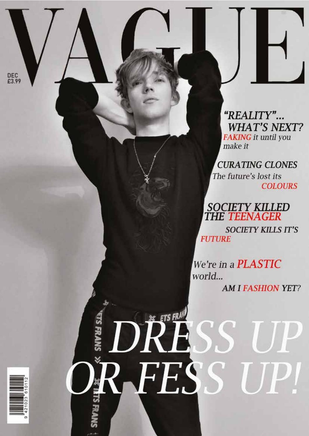 Vague Magazine By Bethandaniels Issuu
