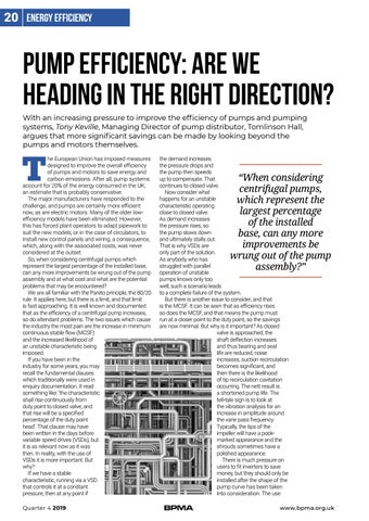 Page 20 of Pump efficiency: are we heading in the right direction?