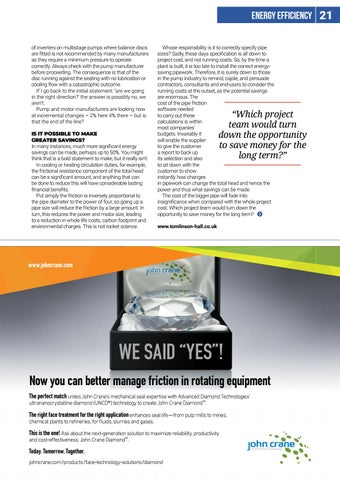 Page 21 of Pump efficiency: are we heading in the right direction?