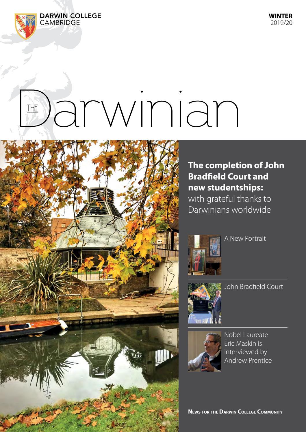 Transformation Grange En Habitation Rt 2012 darwinian autumn/winter 2019darwin college, cambridge