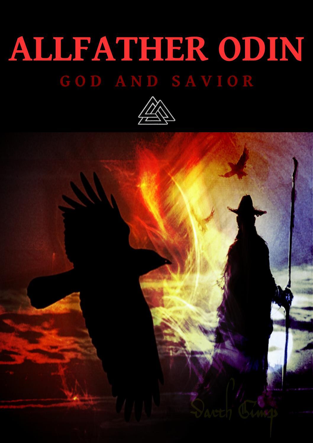 "NEW 12/""H PAGAN GOD ALFATHER ODIN STATUE FIGURINE NORSE VIKING RULER OF ASGARD"