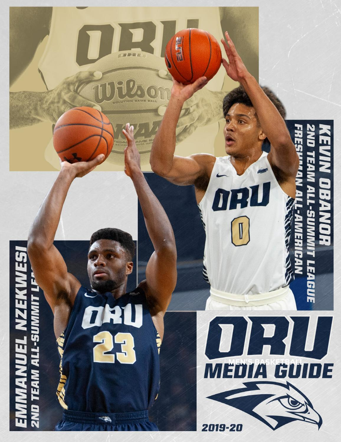 2019-20 ORU Men's Basketball Media Guide by ORU Athletics - issuu