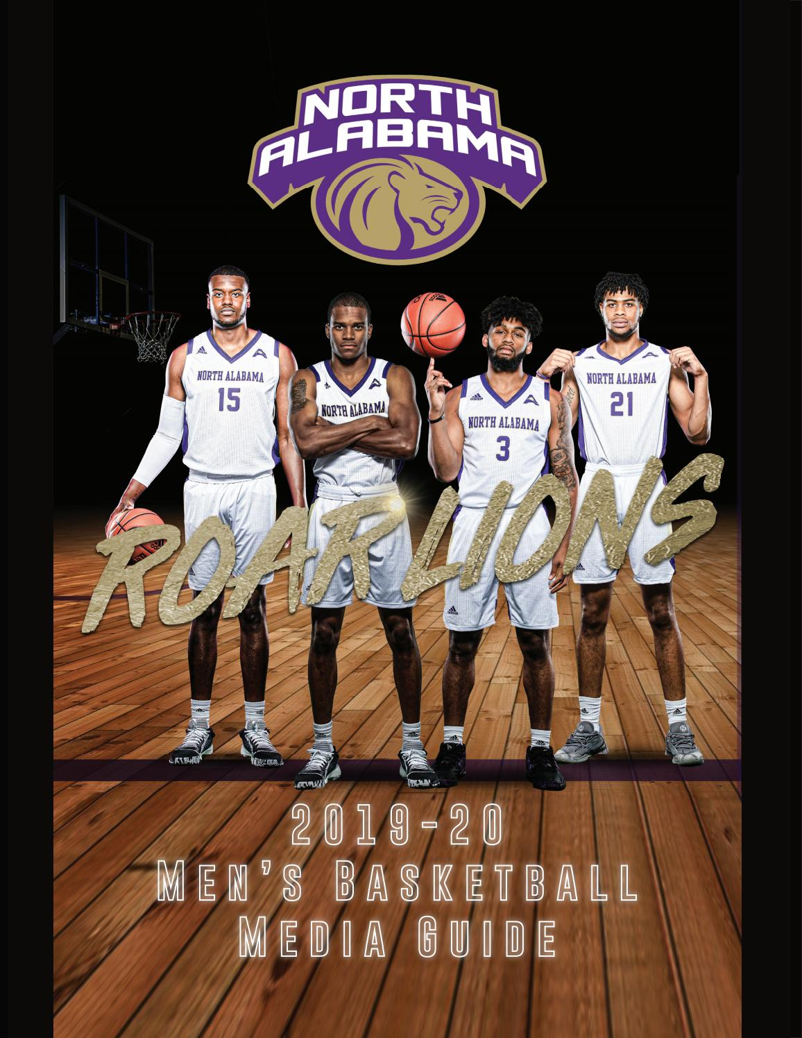 2019 20 Una Men S Basketball Media Guide By University Of North Alabama Athletics Issuu