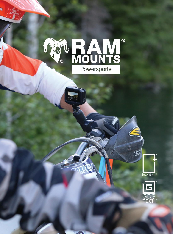 RAM Composite Motorcycle Handlebar Mount Holder fits Garmin nuvi 65 66 67 /& 68