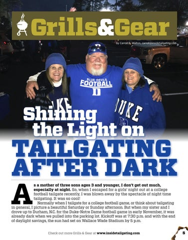 Page 5 of Night Tailgating and 5 Ways to Keep Warm