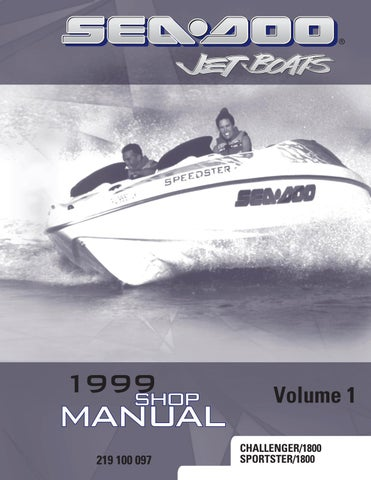 1999 Sea Doo Challenger 1800 Service Repair Manual By C5oqv2h Issuu
