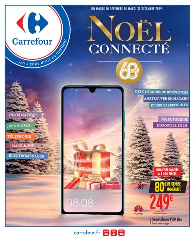 Catalogue Carrefour Noël Connecté By Ofertas Supermercados