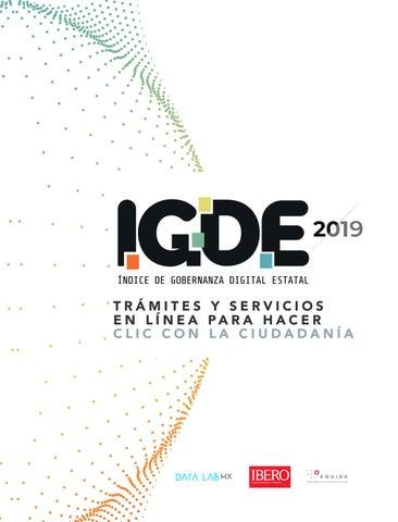 Índice de Gobernanza Digital Estatal 2019