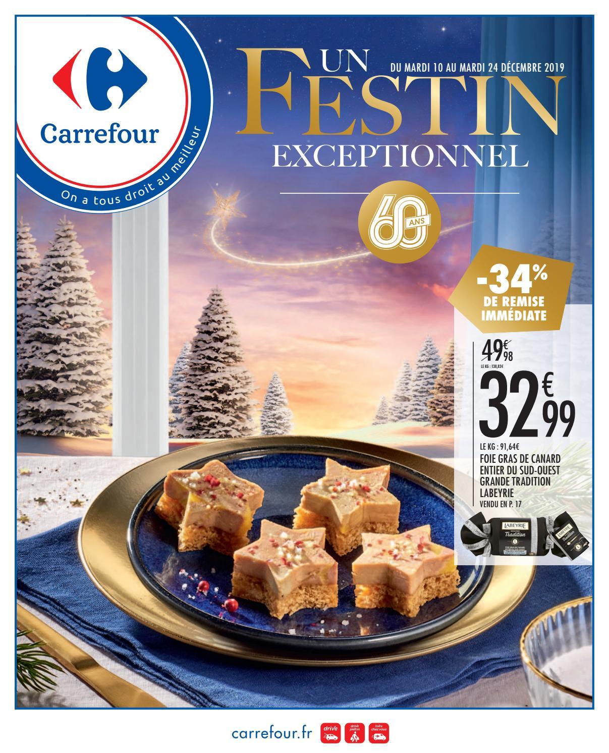 Catalogue Carrefour Un Festin Exceptionnel By Ofertas