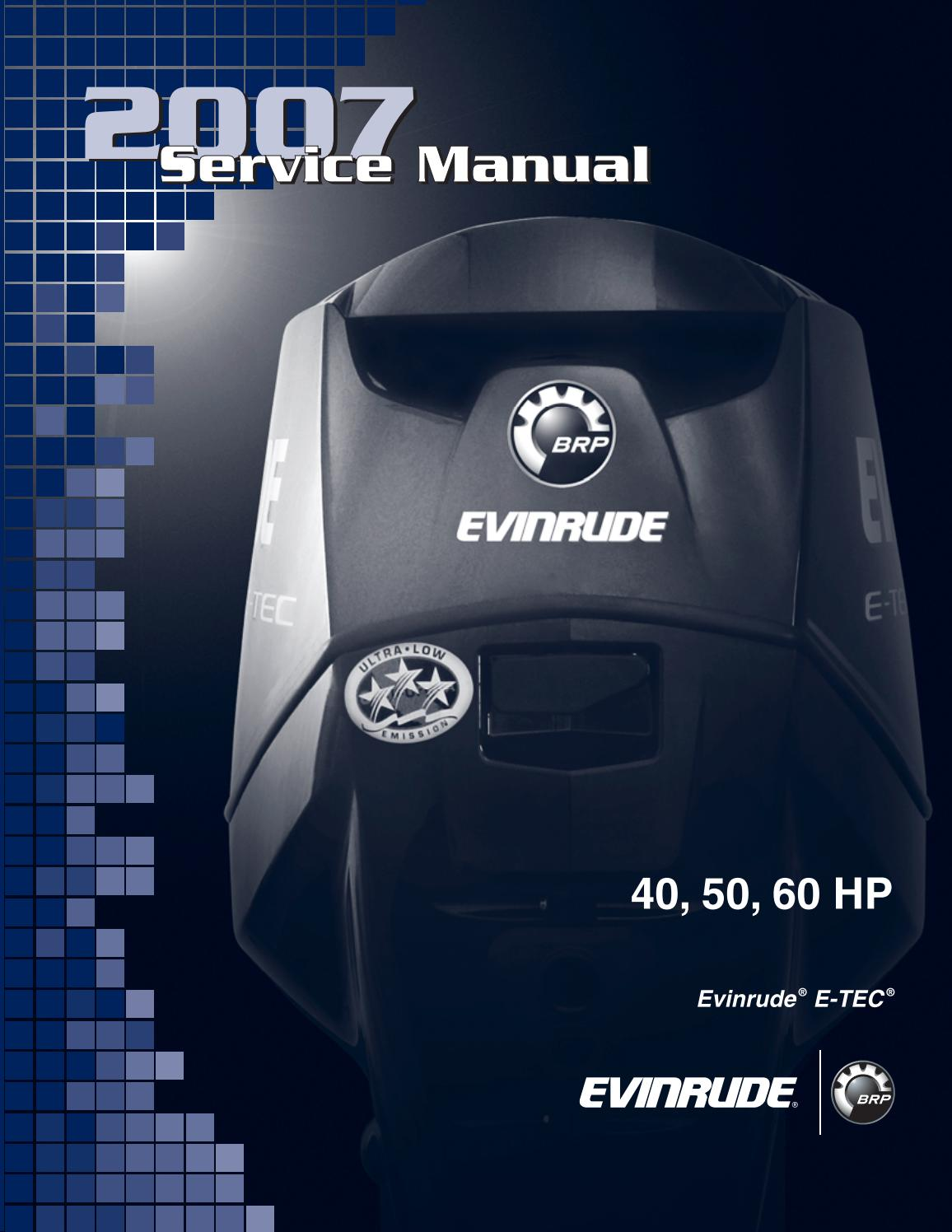 2007 Johnson Evinrude Outboard 40hp Service Repair Manual By C5oqv2h Issuu