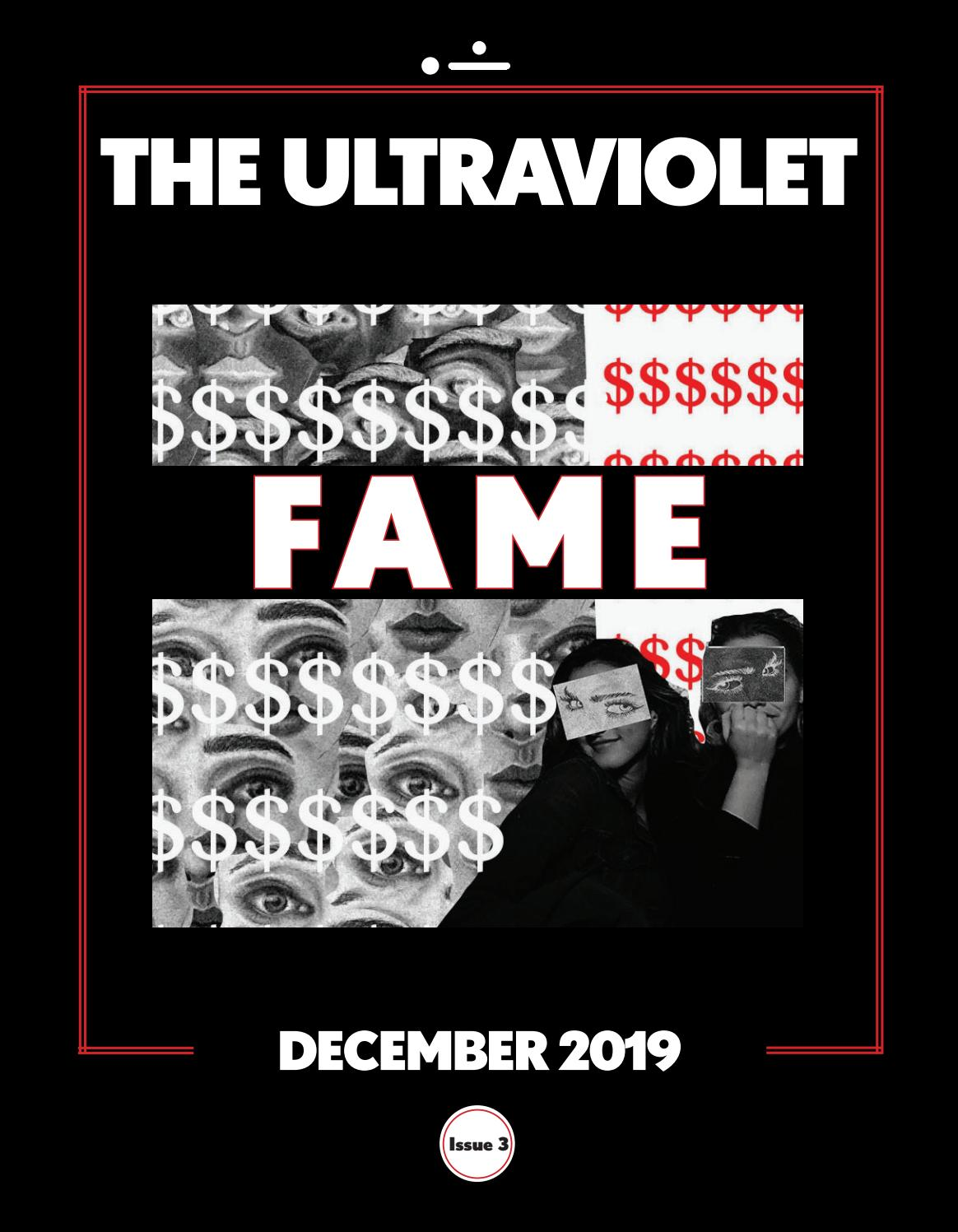 The Ultraviolet 2019 2020 Issue 3 By Theultraviolet Issuu