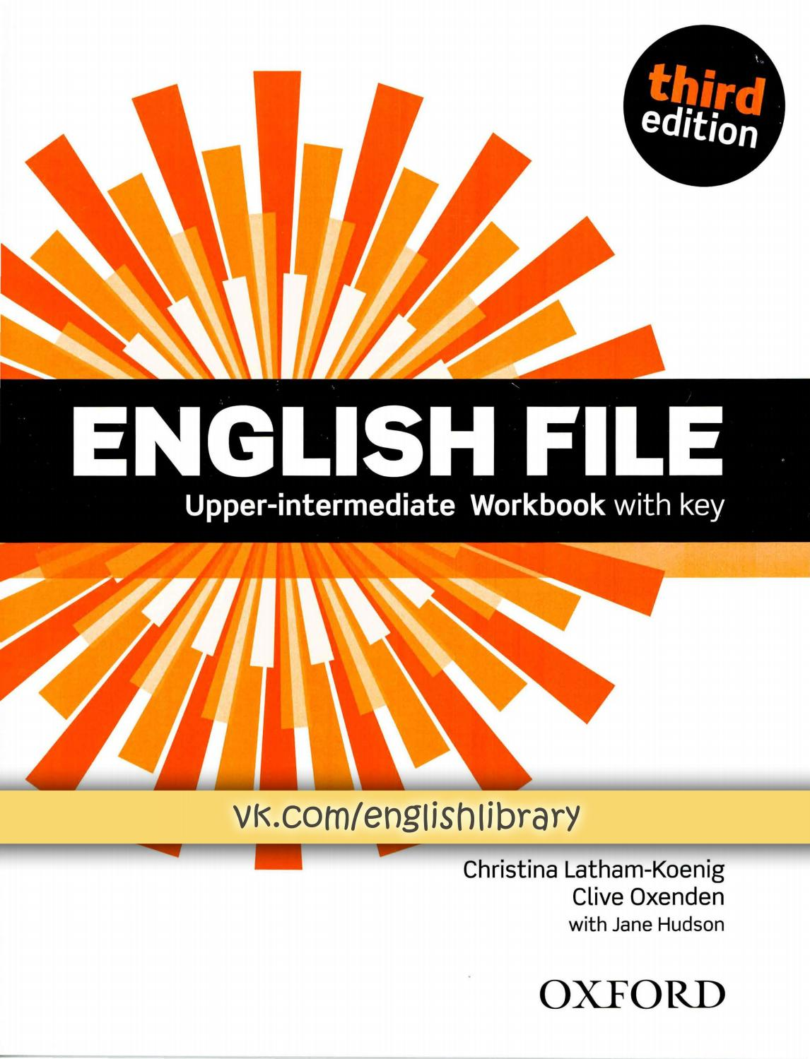 English File Upper Intermediate Student S Book With Workbook With