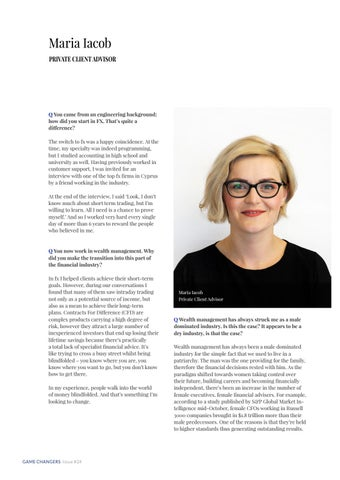 Page 16 of PRIVATE CLIENT ADVISOR Maria Iacob