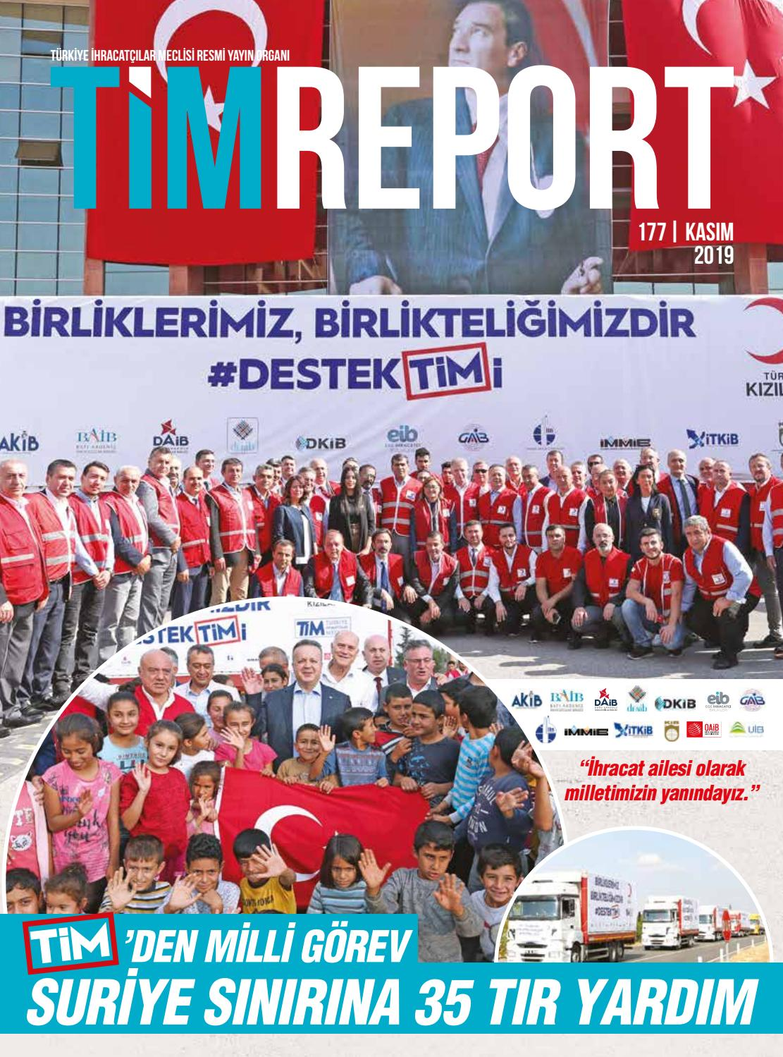Timreport Kasim 2019 Sayi 177 By Turkish Exporters Assembly Issuu