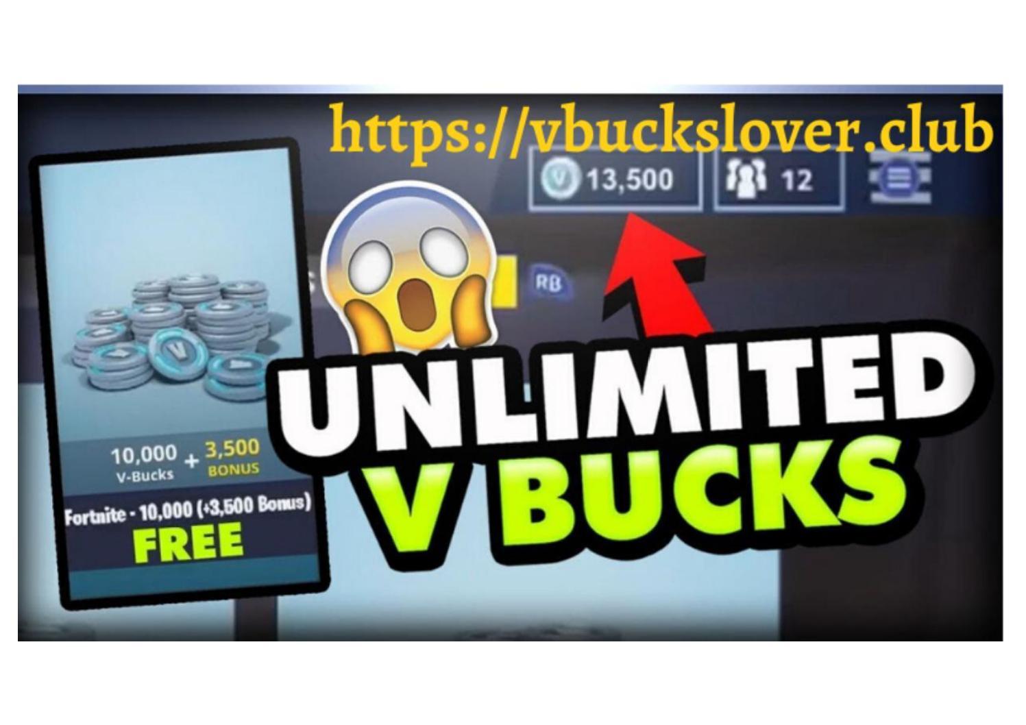 Freev Bucks Generator Lets Play Fortnite Free V Bucks Generator 2020 F O R T N I T E By Marialewiss007 Issuu