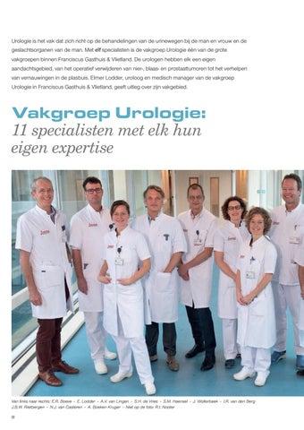 Page 10 of Vakgroep Urologie: 11 specialisten met elk hun eigen expertise