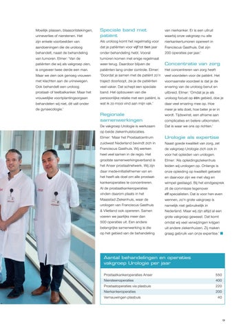 Page 11 of Vakgroep Urologie: 11 specialisten met elk hun eigen expertise