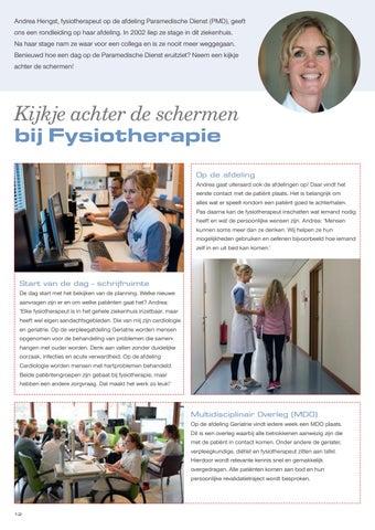 Page 14 of Kijkje achter de schermen bij Fysiotherapie