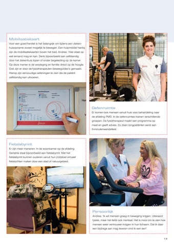 Page 15 of Kijkje achter de schermen bij Fysiotherapie