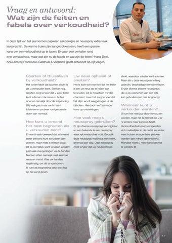 Page 19 of Vraag en antwoord: Wat zijn de feiten en fabels over verkoudheid?