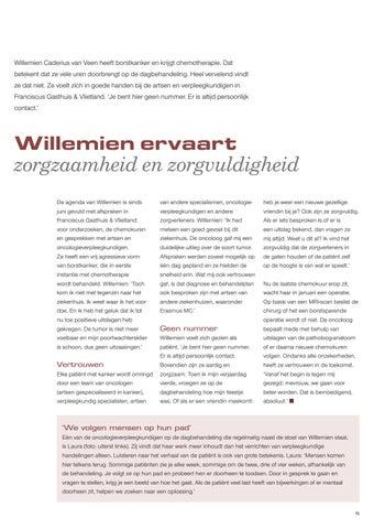 Page 7 of Willemien ervaart zorgzaamheid en zorgvuldigheid