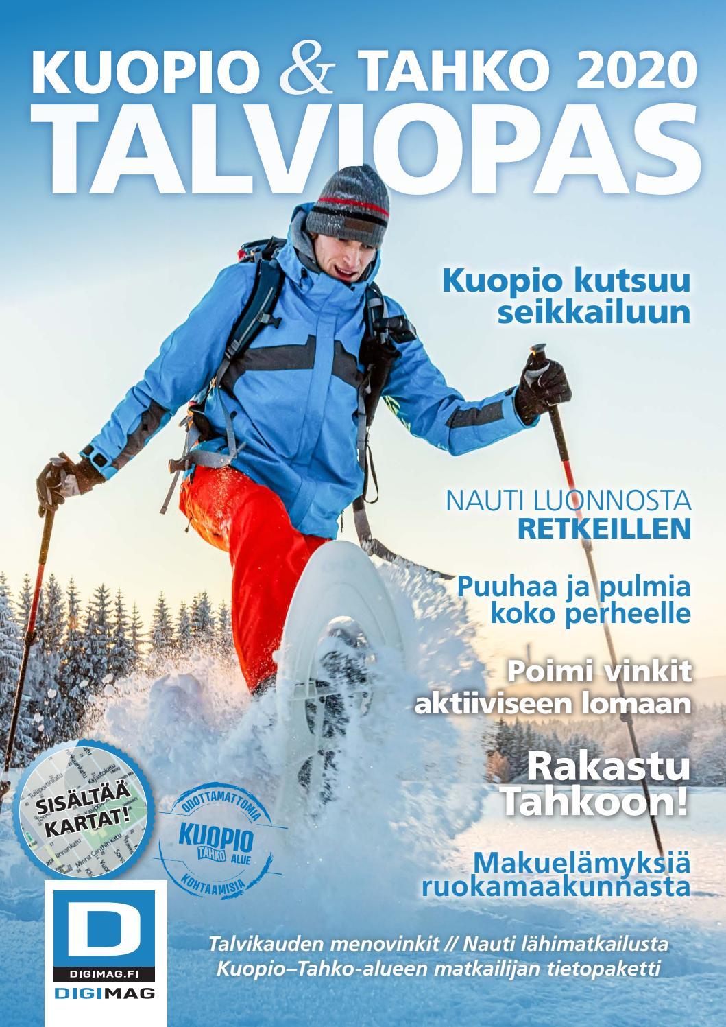 Talvi 2020 Kuopio Tahko Matkailuopas By Nmt Kuopio Issuu