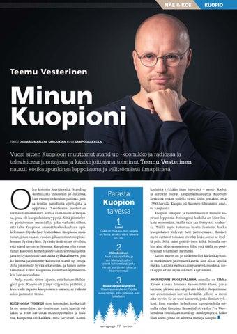 Page 17 of Minun Kuopioni - Teemu Vesterinen