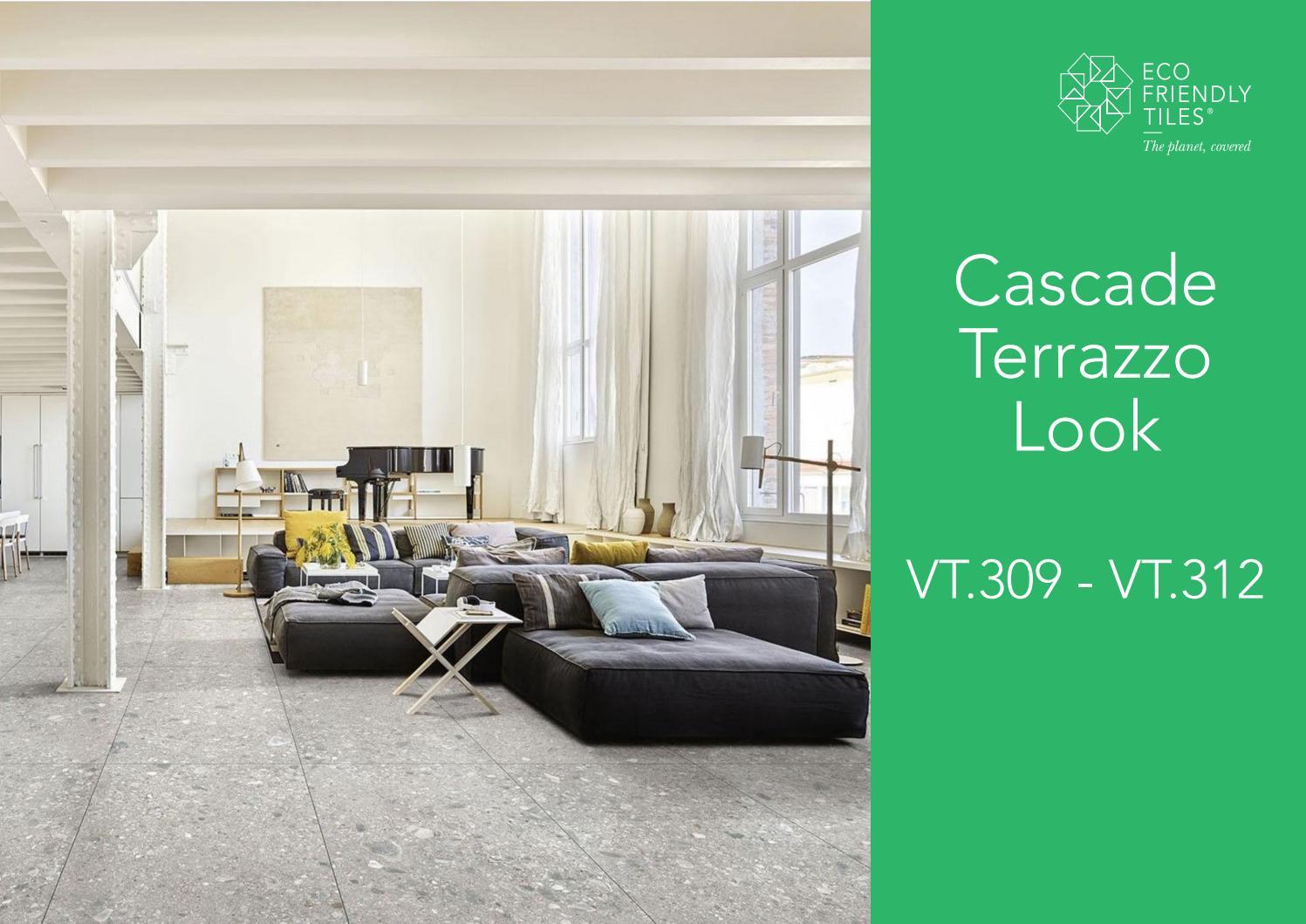 Eco Friendly Tiles Cascade Range Terrazzo Look Vt 309 Vt