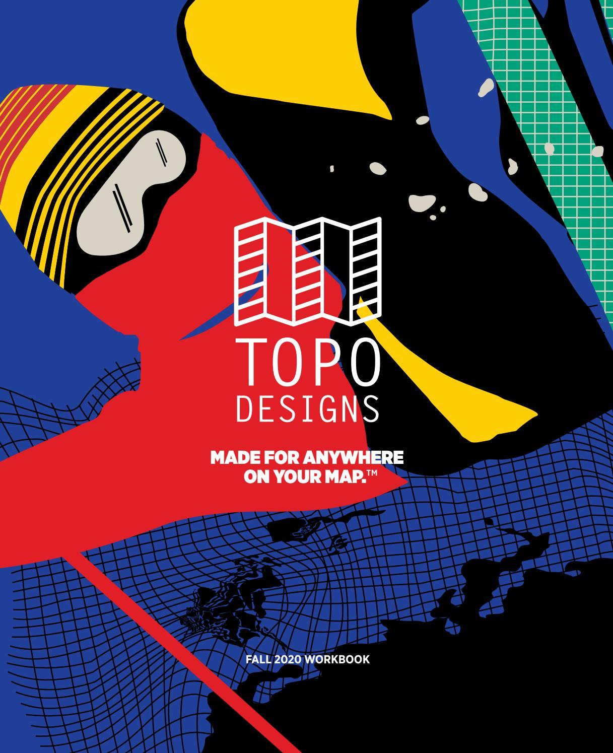 Topo Designs Fw20 By Action Sport Agency Issuu