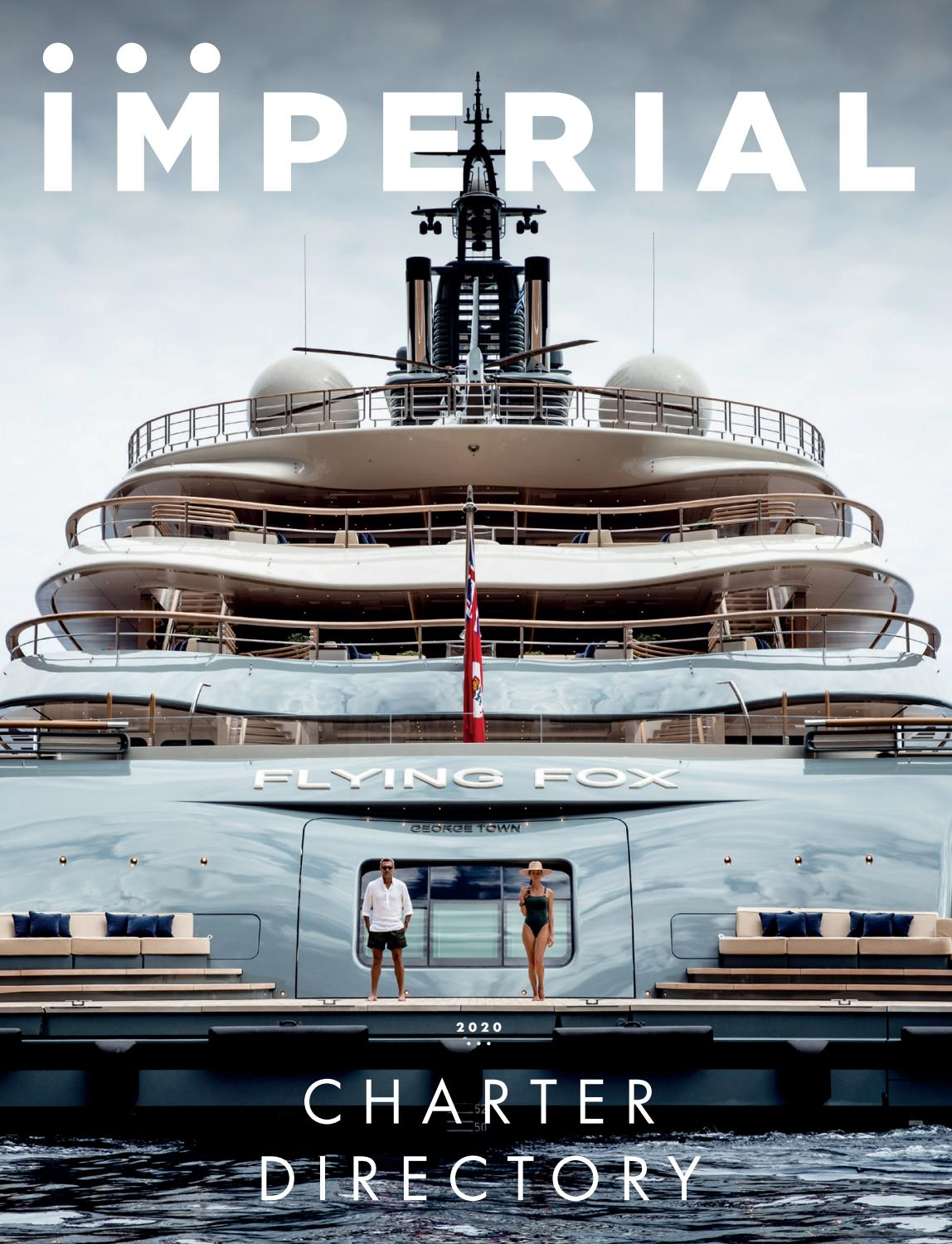 Imperial Charter Directory 2020 Edition By Imperial Yachts Issuu