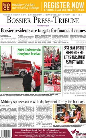 Bossier Press Tribune 12 18 19 E Edition By Bossier Press Tribune Issuu