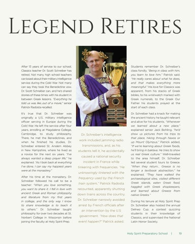 Page 19 of A Greek Legend Retires