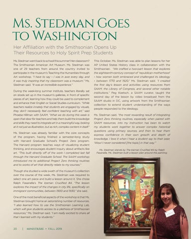 Page 20 of Ms. Stedman Goes to Washington