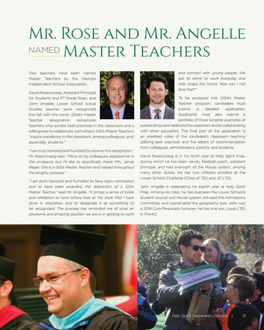 Page 21 of Mr. Rose and Mr. Angelle Named Master Teachers