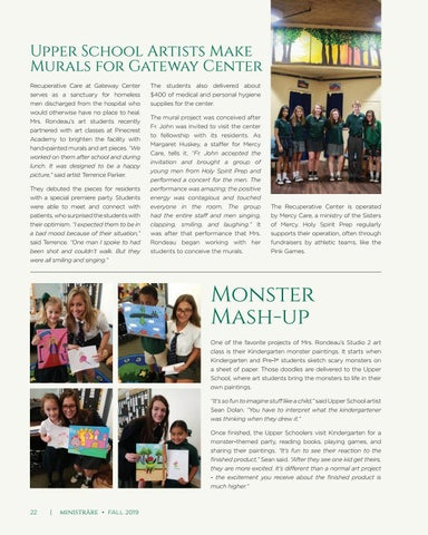 Page 22 of Upper School Artists Make Murals for Gateway Center
