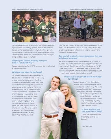 Page 53 of Alumni Profile: Ryan Casey, Class of 2012