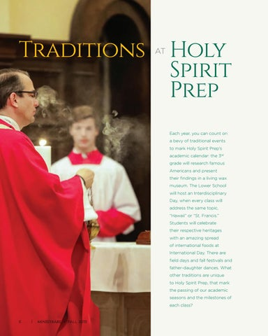 Page 6 of Traditions at Holy Spirit Prep