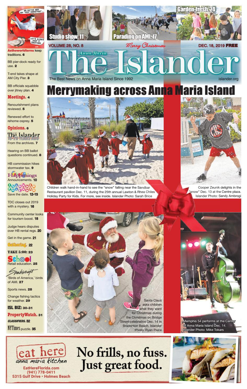 Livability'S Annual Christmas Carol Service 2020 In London, December 11 The Islander Newspaper E Edition: Wednesday, Dec. 18, 2019 by The