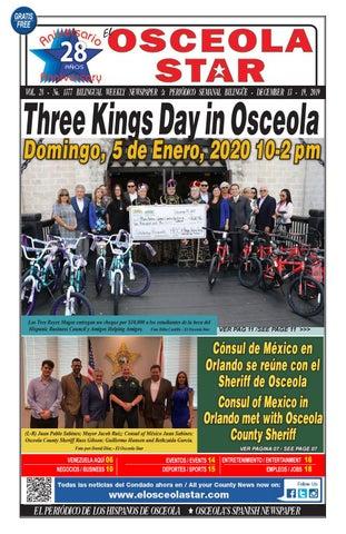 1377 del 13 al 19 de Diciembre del 2019 by El Osceola Star