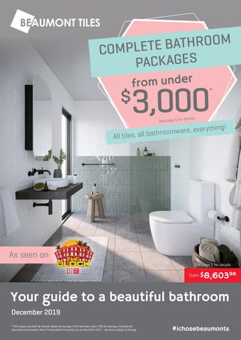 Beaumont Tiles Bathroom Packages By Beaumont Tiles Issuu