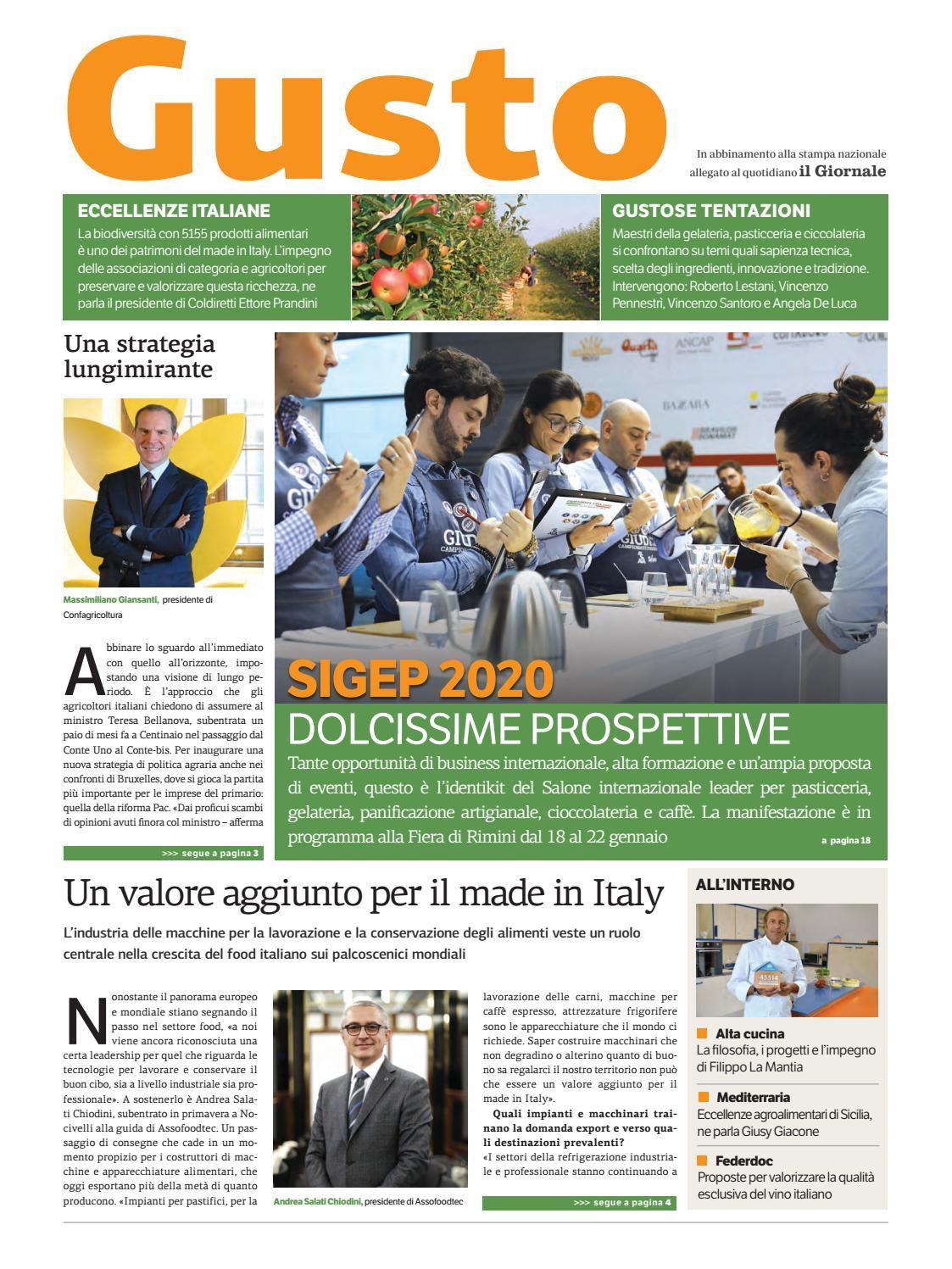 Piccolo Manuale Per Non Farsi Mettere I Piedi In Testa.Gusto Dicembre 2019 By Golfarelli Editore International Group
