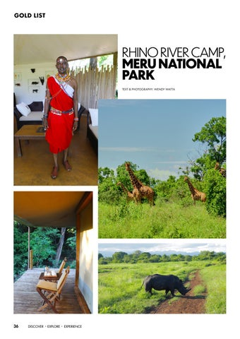 Page 36 of Rhino River Camp, Meru National Park