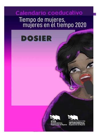 """Cover of """"Dosier Mujeres en la música. Tiempo de Mujeres, Mujeres en el Tiempo 2020"""""""