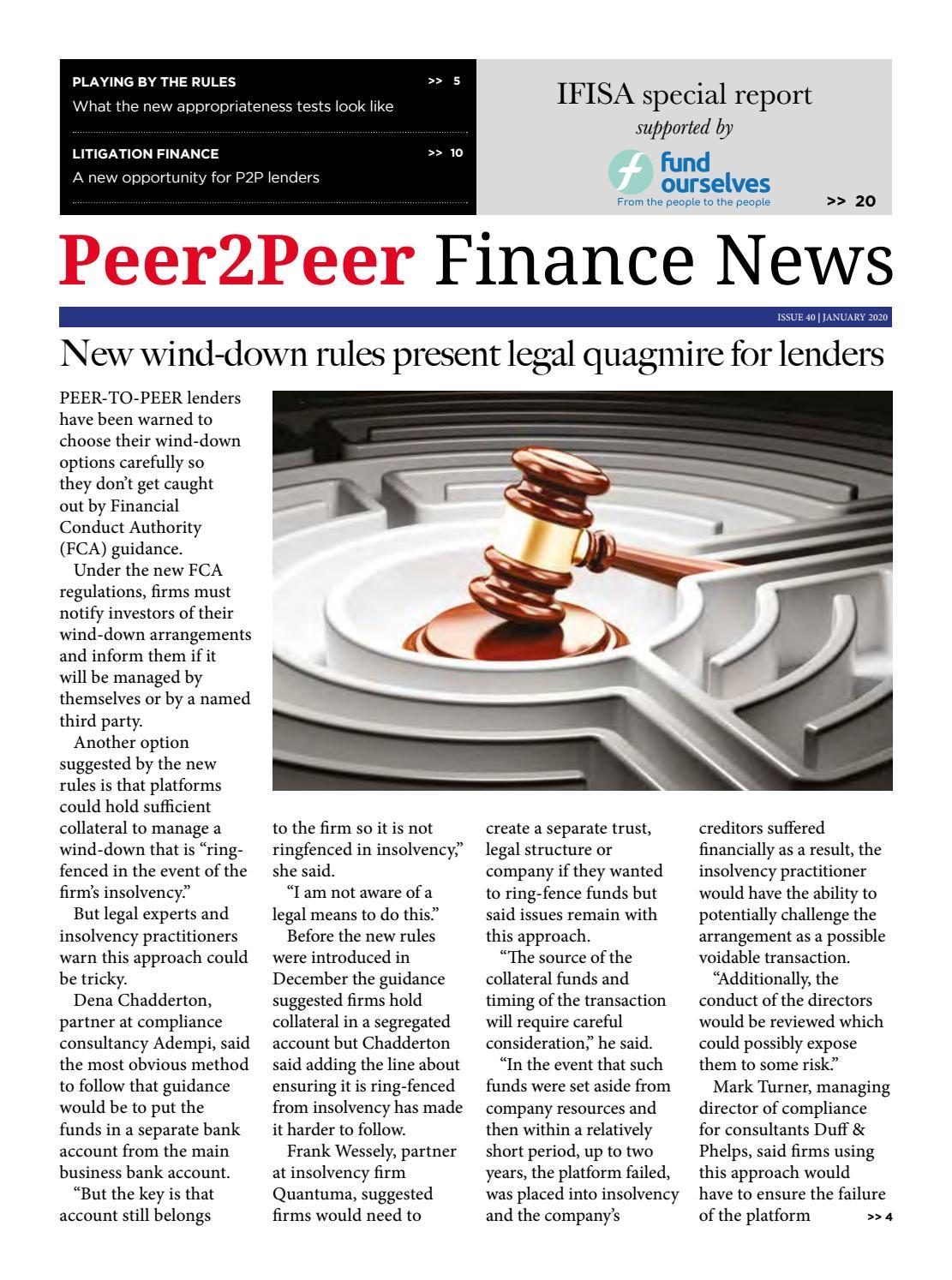 Peer2peer Finance News January 2020 By Peer2peer Finance News Issuu